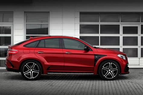 From the outside, the heavily contoured power dome design hints at the immense power delivery. Mercedes GLE 450 AMG Coupe Gets Inferno Tuning from Topcar - autoevolution
