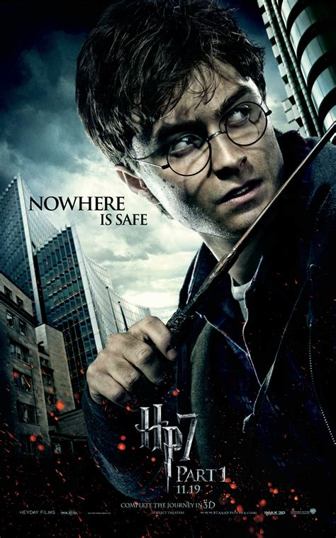 harry potter and the deathly hallows part i posters collider