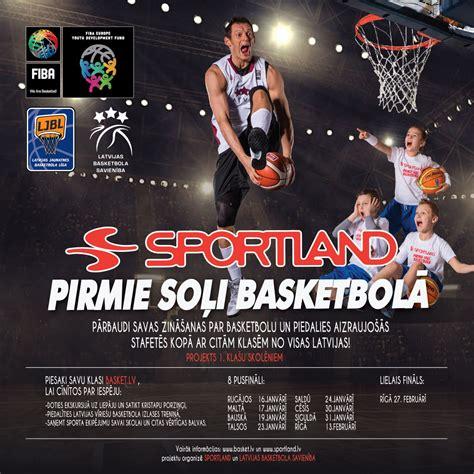 """""""Sportland pirmie soļi basketbolā"""