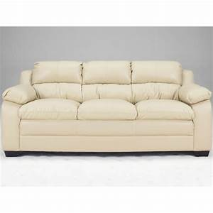 art van maddox natural finish blended leather sofa With leather sectional sofa art van