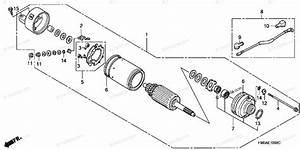 Honda Atv 2002 Oem Parts Diagram For Starter Motor