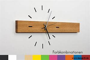 Moderne Wanduhren Design : design wanduhr eiche online kaufen ~ Markanthonyermac.com Haus und Dekorationen