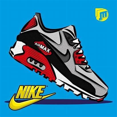 Nike Air Tenis Dessin Jordan Basket Sneakers