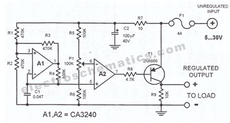 dc voltage regulator circuit