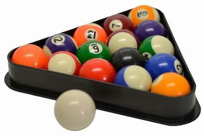 Balls Billiard Pool Rack Triangle Miniature Ball