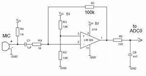 Wiring Machine  Microphone Echo Circuit Diagram