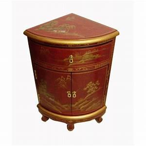 Meuble Bar Angle : meuble d 39 angle rouge meuble chinois ~ Melissatoandfro.com Idées de Décoration