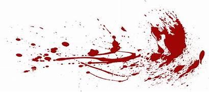 Blood Transparent Splatter Spray Clipart Floor Celebri
