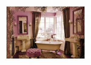 10 best images about purple bathroom design ideas on for Pink and cream bathroom