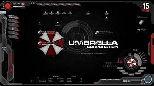 Tutorial Windows 8 Sheilds OS & Umbrella Corporation Skin ...