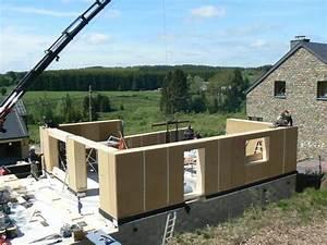 paille tech maison ossature bois isolation paille With maison ossature bois isolation paille