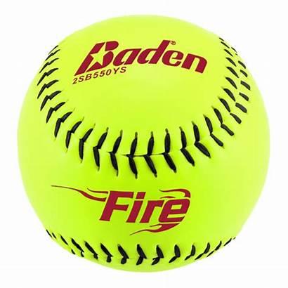 Transparent Baseball Softball Fire Clipart Ball Rawlings