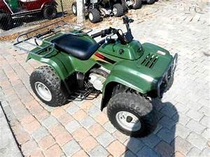 Used 2001 Kawasaki 220 Bayou 4 Stroke Rear Racks Nice Atv