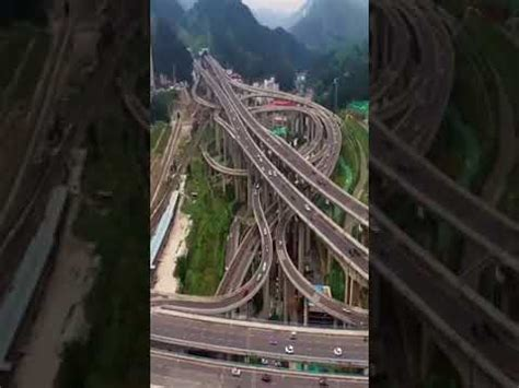 Qianchun Interchange by One Of China S Most Complex Interchanges It S Called