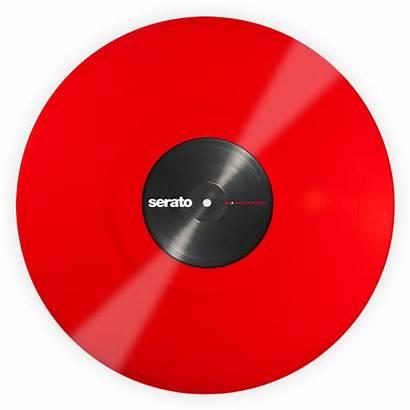 Vinyl Record Serato Transparent Control Pair Tone