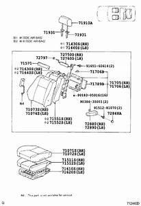 Toyota Land Cruiser Folding Seat Lock Striker Bracket