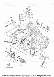 Yamaha Atv 2005 Oem Parts Diagram For Oil Pump