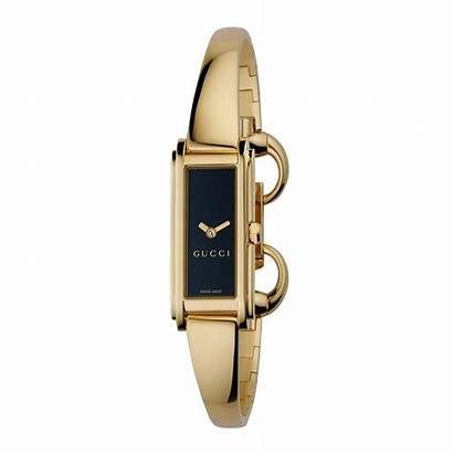 Gucci Ladies Line Bangle Gold Bracelet Watches