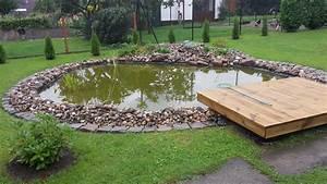 Kleiner Gartenteich Anlegen : einen fischteich gartenteich selber anlegen bauen teil ~ Michelbontemps.com Haus und Dekorationen