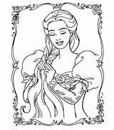 Coloring Barbie Ken Sparad Fran sketch template
