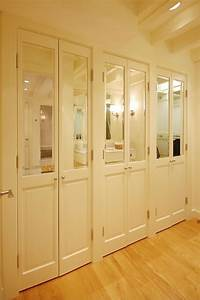 Bathroom closet door ideas closet transitional with gray