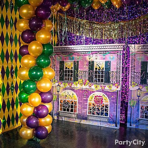 mardi gras photo backdrop idea mardi gras decorating