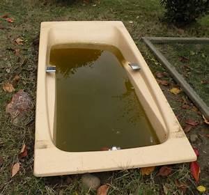 Bac à Poisson Extérieur : ma baignoire en bassin ~ Teatrodelosmanantiales.com Idées de Décoration