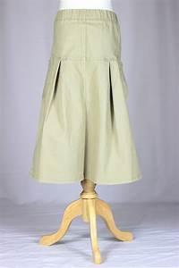 Cute in Khaki Long Girls Skirt Sizes 6-14