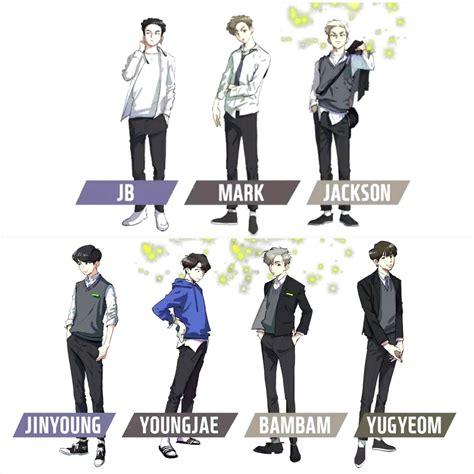 got7 webtoon livehappylifemb on twitter quot got7 webtoon น าร กมาก วาดออก