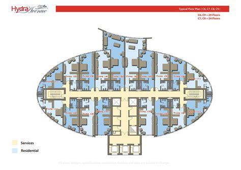 hydra avenue floor plans reem island abu dhabi