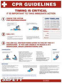 2014 Printable CPR Guidelines
