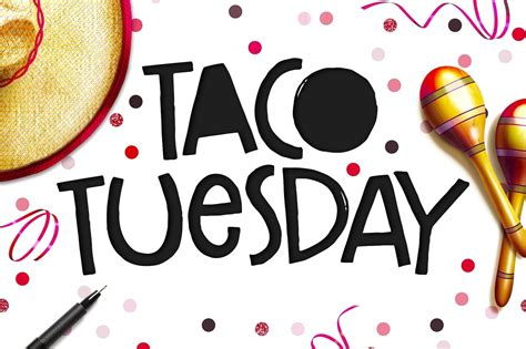 teacher staff taco tuesday potluck signup sheet