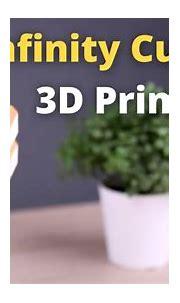 3D Printed Fidget Infinity Cube - YouTube