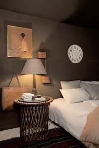 chambre taupe avec couleur lin pour oreiller et abat jour With deco chambre lin et taupe