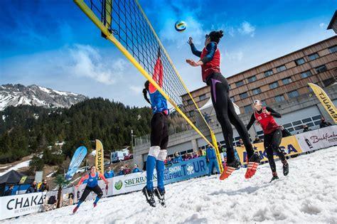 Latvijā pirmo reizi notiks sniega volejbola čempionāts ...