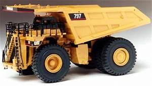 Classic Construction Models Caterpillar 797 Mining Truck