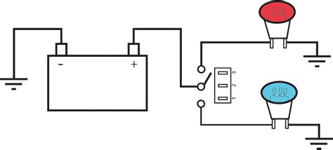 Diagram For Wiring Single Pole Throw Toggle by Toggle Switch Wiring