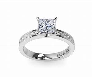 gold wedding rings engagement rings square cut diamonds With square diamond wedding rings