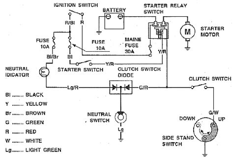 Honda Goldwing Wiring Diagram For 2012 by New Honda Gold Wing Gl1100 Wiring Diagram Electrical