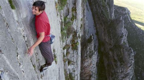 Alex Honnold Ropeless Ascent Capitan Nerve