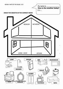 Pin En Parts Of A House And Worksheetts