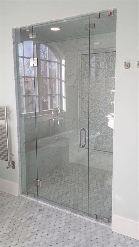 petersen custom glass shower  glass install parker