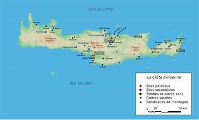 Crete Map Minoan Svg Fr Ancient Wikimedia