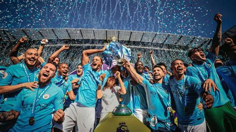 Manchester City Premier League Champions 2019 Wallpapers ...