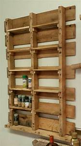 Spice Rack from Upcycled Pallet • Pallet Ideas • 1001 Pallets