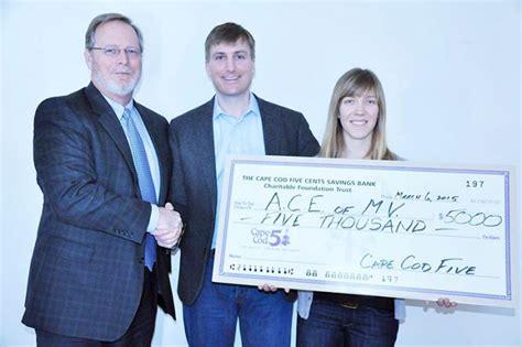 Cape Cod Five Foundation Supports Ace Mv-the Martha's