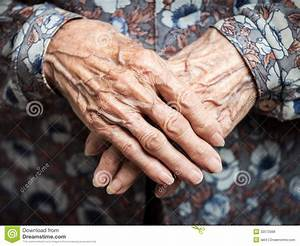 Very old woman hands stock photo. Image of mother, holding ...