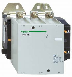 Schneider Electric Lc1f400f7 Square D Contactor 110v