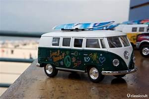 VW T1 Bus Santa Monica Pier Los Angeles Classiccult