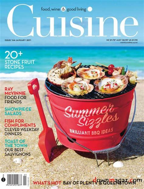 cuisine gourmande magazine cuisine no 144 january 2011 pdf magazines